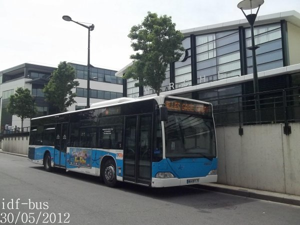 Réseau Transdev Apolo 7,Bus Mercedes Citaro I à Chelles-Gournay RER