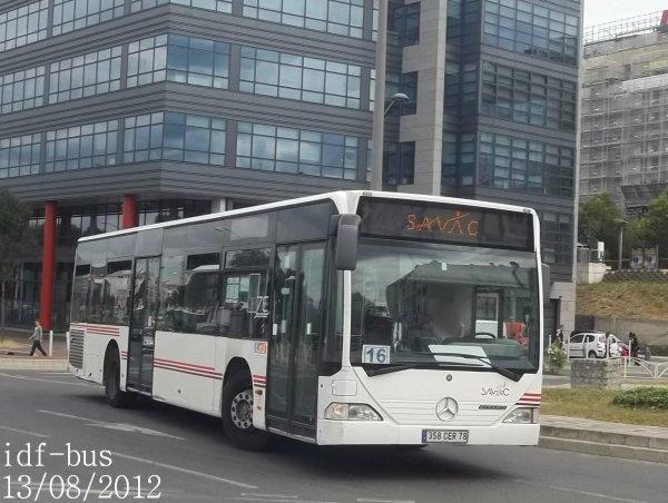 Service spécial,bus de remplacement Tramway T2,les bus RATP DEV du 13/08/2012