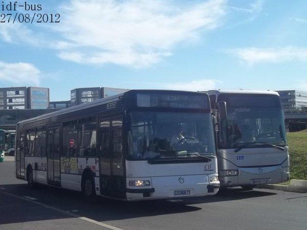 Quelques bus à Aéroport de Roissy-CDG 1 RER-Roissypôle (Suite et fin)