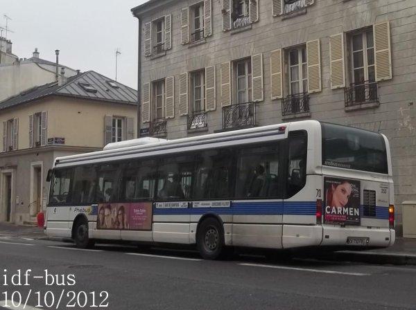 Réseau Phébus groupe Kéolis,quelques photos à Versailles