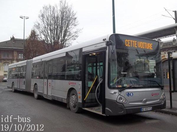 Réseau Véolia Transport TRA,quelques bus à Le Raincy-Villemomble-Montfermeil RER