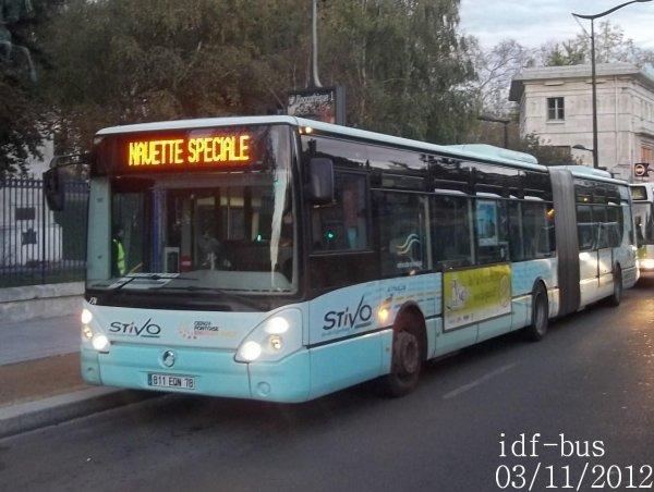 Service spécial: Bus de remplacement  RER B (Suite et Fin)