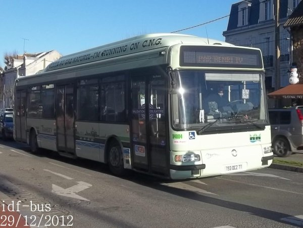Réseau Marne et Morin,quelques bus à Meaux