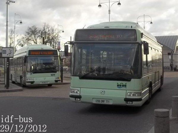 Réseau Marne et Morin,quelques bus à Meaux (Suite et Fin)