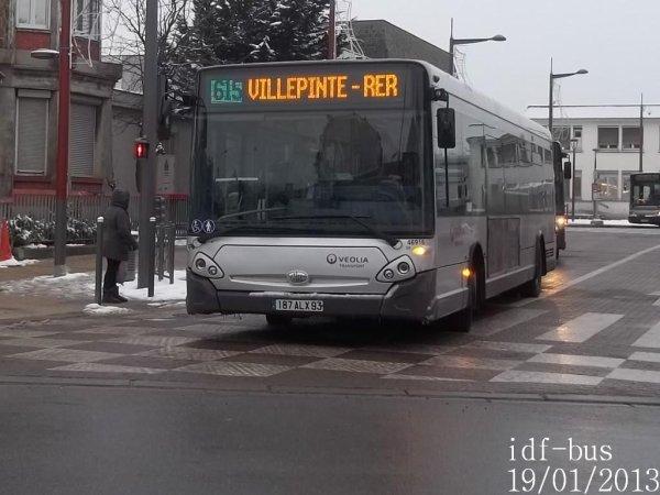 Réseau Véolia-Transport TRA,photos à Aulnay-sous-Bois RER