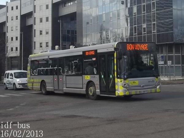 Réseaux STIVO,Céobus,Valoise Groupe Lacroix,Bus Val d'Oise,Véolia Transport Montesson-Les Rabaux à Cergy-Préfecture RER