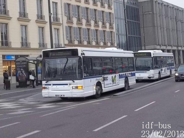 Réseau Phébus groupe Kéolis,Photos à Versailles-Europe