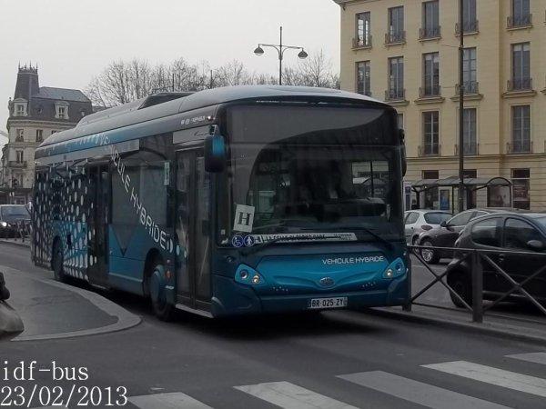 Réseau Phébus groupe Kéolis,Photos à Versailles-Europe (Suite et fin)