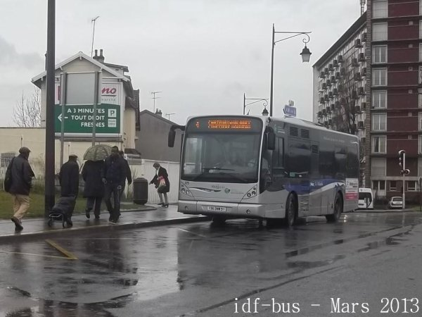 Réseau Le Paladin groupe Transdev,photos à Antony-La Croix de Berny RER