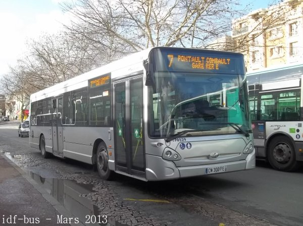 Réseau SITUS de Transdev-CEAT,photos à Gare de Champigny-Saint-Maur RER