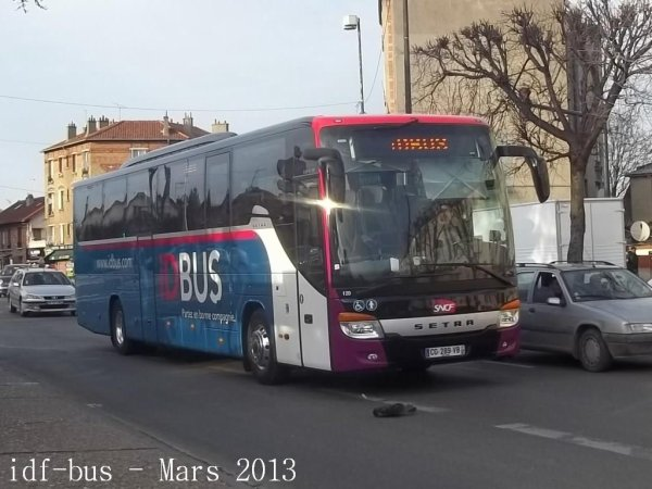 ID BUS,autocar Setra S 415 GT-HD a Stains-Le Globe