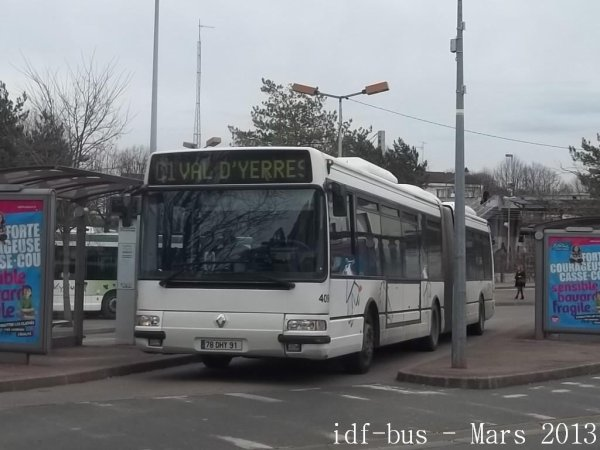 Réseau VY BUS de STRAV groupe Véolia-Transdev,photos en gare de Brunoy