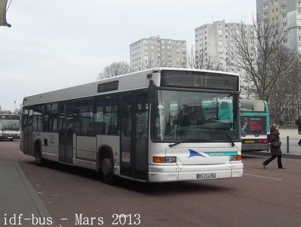 Réseau CIF groupe Kéolis,ligne 11,photos à Saint-Denis