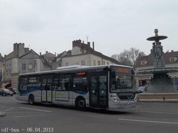 Photos des réseaux Melibus et ligne Citalien à Melun