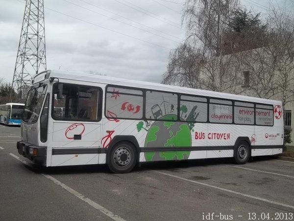 Journée portes ouverte dépôt Apolo 7-STBC groupe Transdev (bus PR100.2 Bus citoyen de Véolia transport)
