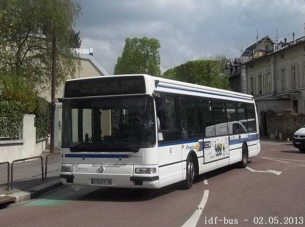 Réseau Phébus groupe Kéolis,photos dans le quartier de Versailles-Rive-Droite
