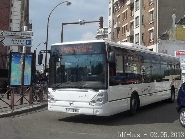 Réseau Phébus groupe Kéolis,ligne X,exploitée par SAVAC Transports île de France