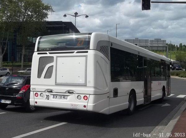 Réseau Véolia Transport Traversiel,ligne (4)27 à Rueil-Malmaison / Bougival-La Jonchère