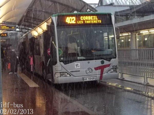 Photos du réseau TICE à Gare d'Evry-Courcouronnes RER-Centre