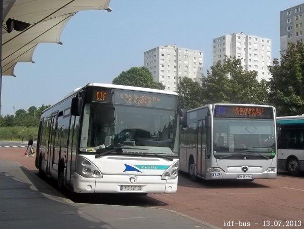 Réseau CIF groupe Kéolis, ligne 11, Bus Citelis 12 et Citaro II