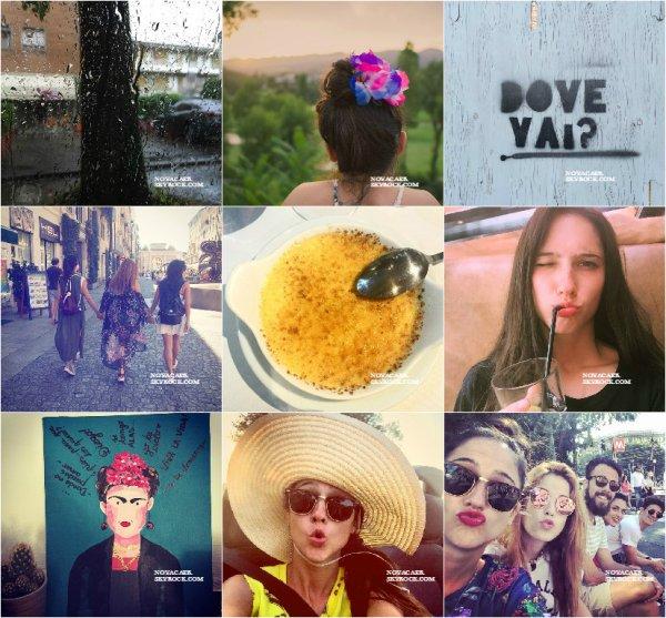 Notre miss à posté de nombreuse photos sur son Instagram. Elle a notamment rencontrés des acteursde la série à Milan.