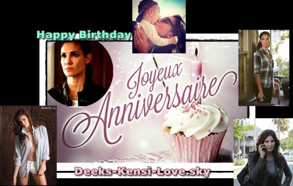 Joyeux anniversaire Daniela Ruah-Olsen