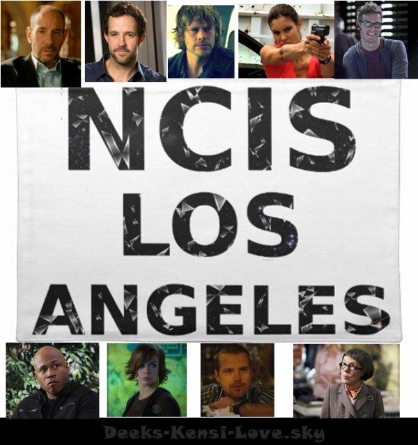 L'équipe NCIS Los Angeles $)
