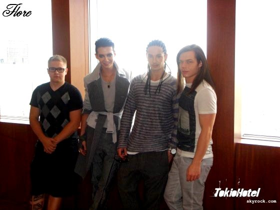Gustav, Bill, Tom, Georg