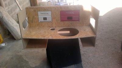 Construction du coffre