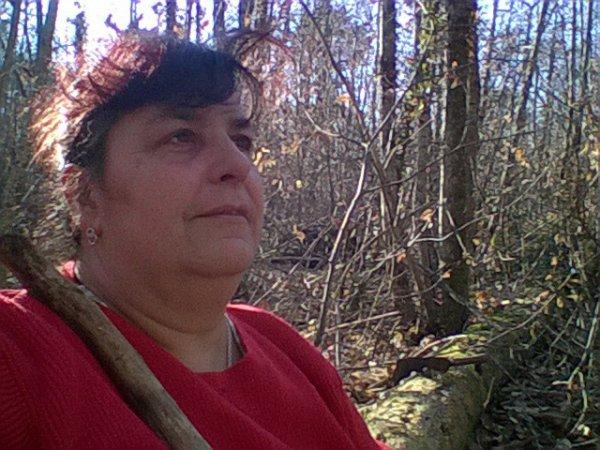 moi dans les bois