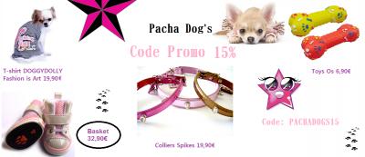 Pacha Dog's CODE PROMO 15%