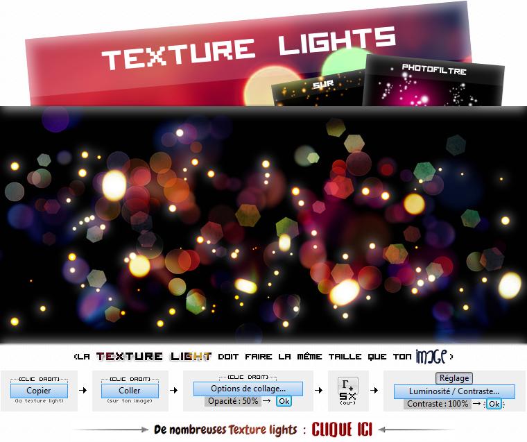 ASTUCE : DAFONT.COM & TUTORIEL 1 : TEXTURE LIGHT SUR PHOTOFILTRE
