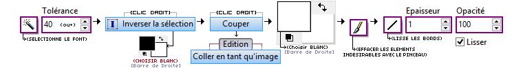 Donner un effet dessiné sur Photofiltre - Extraire un élément de son fond avec PHOTOFILTRE