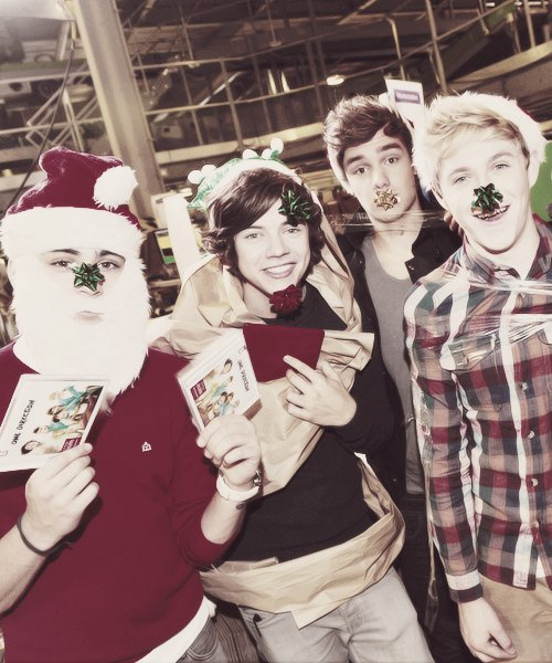 Retour sur les plus belle photo de noël des one direction