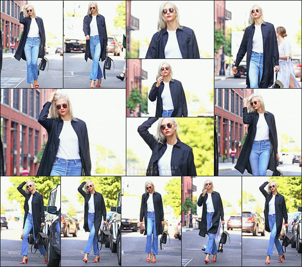 .. ----▷ Candid -◆- Notre mannequin a été vu se rendant à un rendez-vous d'affaire à New York.