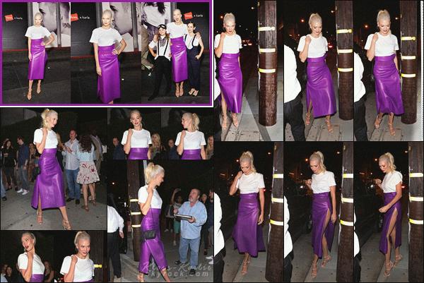 .. ----▷ Event -◆- Karlie Kloss a assister a la soirée Hanes x Karla à Melrose Avenue.