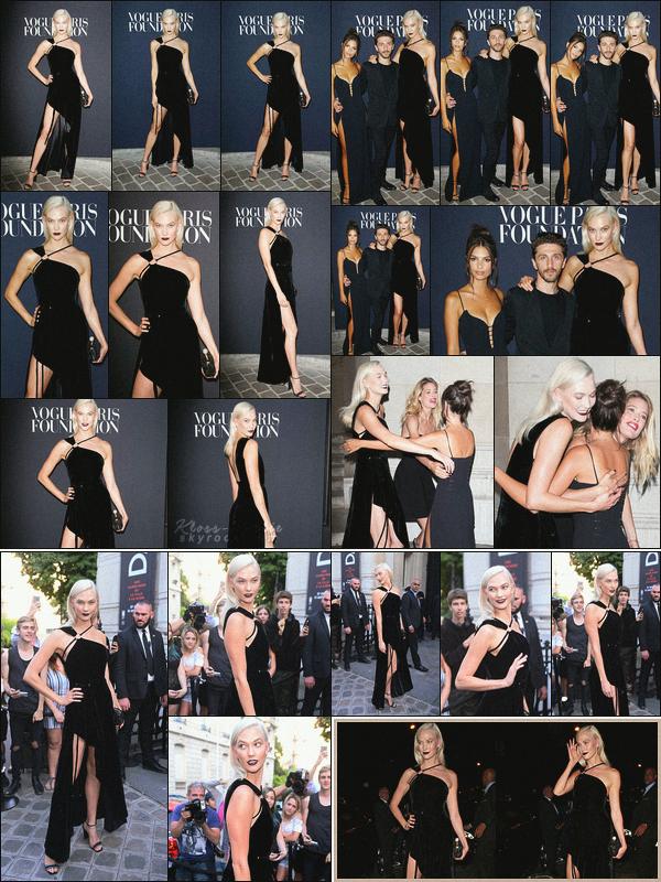 .. ----▷ Event -◆- Karlie a assisté au gala de charité organisé par Vogue à Paris.
