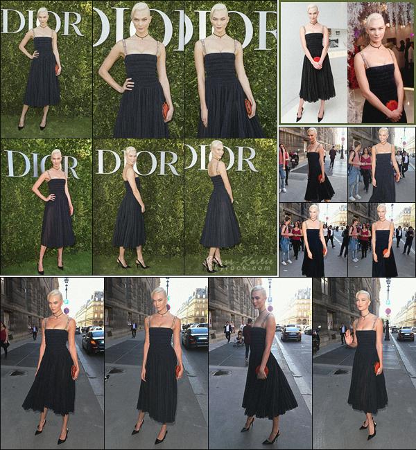 .. ----▷ Event -◆-Plus tard dans la journée, la miss a été vu arrivant à un évent organisé par Dior.