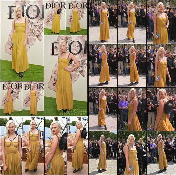 .. ----▷ Event -◆-Karlie Kloss a assisté au défiler de la maison Dior à Paris.