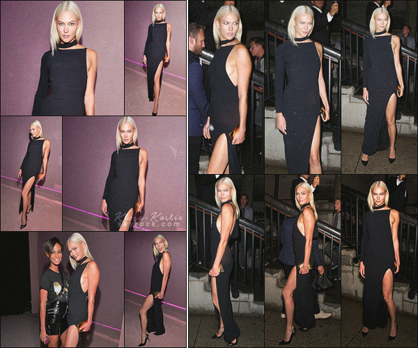 .. ----▷ Event -◆- Karlie s'est rendu au défilé Tom Ford à l'occasion de la fashion-week New Yorkaise.