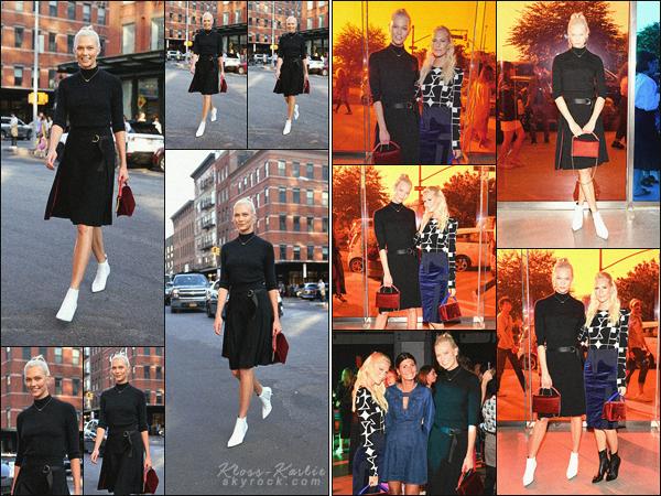 .. ----▷ Event -◆- Karlie a assisté au show de Diane von Fürstenberg pour la Fashion Week..