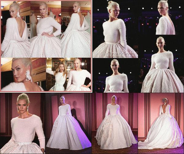.. ----▷ New York Fashion Week -◆- Karlie Kloss a défilé pour le styliste Brandon Maxwell.
