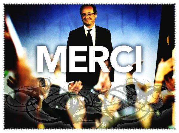 Derniers mots du président sortant Nicolas SARKOZY / 1ers mots du Nouveau président François HOLLANDE
