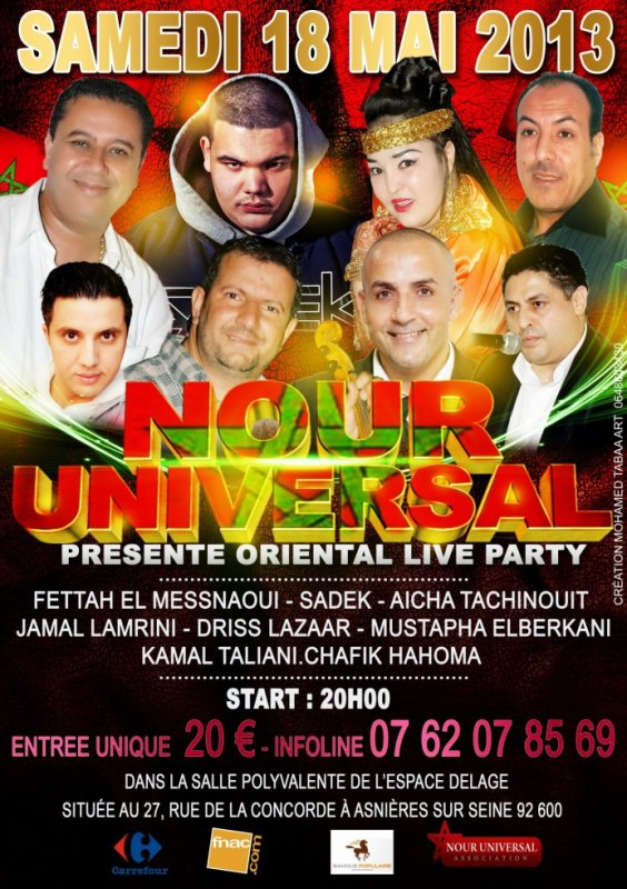oriental live party