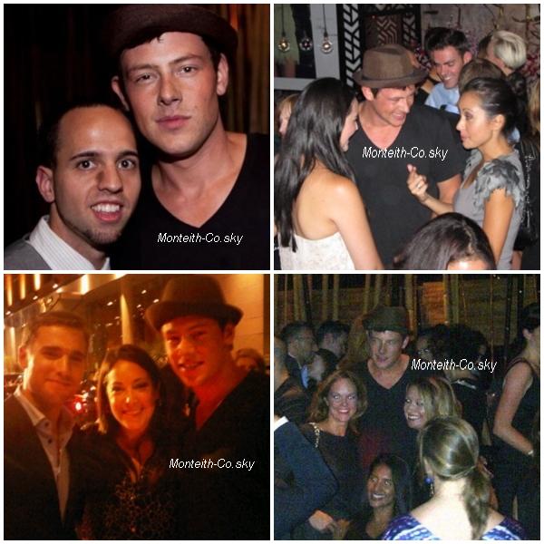 """10/09/11 :  Cory était à Toronto pour le festival de son film """"Sisters & Brothers"""""""