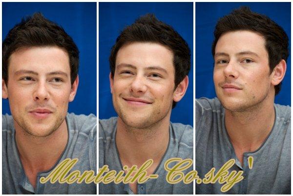Des photos datant du 3 octobre viennent d'apparaitre (à la Glee Press Conference)