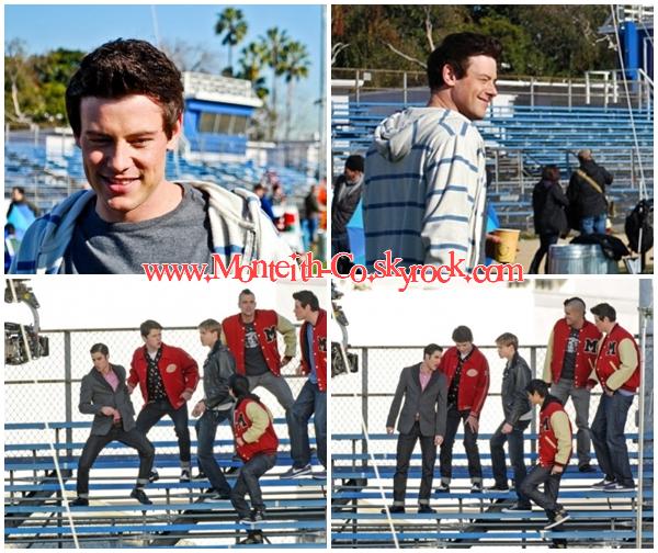 """06/12/11 : Cory était à l'avant première du film """"New Year's Eve"""" à Los Angeles. TOP/FLOP/BOF ? TOP. ♥ + Le même jour, il tournait des scènes pour Glee."""