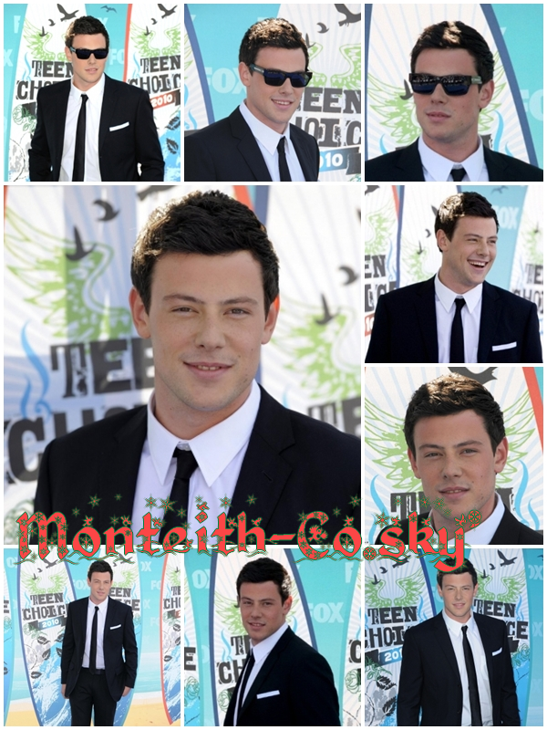FLASHBACK !  09/08/2010 : Cory était aux Teen Choice Awards 2010. TOP/BOF/FLOP ? TOP.♥