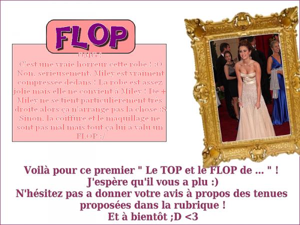 Le TOP et le FLOP de ...