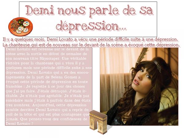 Demi Lovato et sa cure...